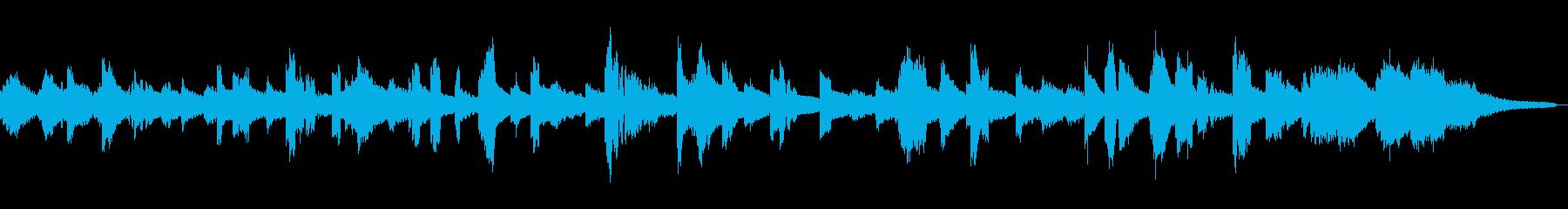 ジャジーな雰囲気のローズエレピの再生済みの波形