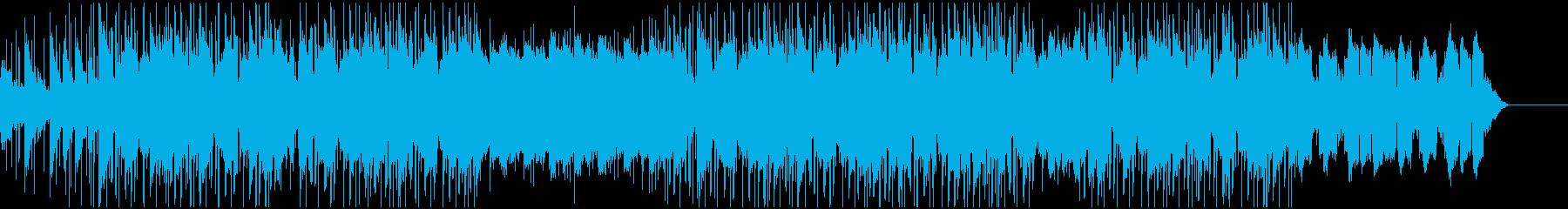 Chill系のゆったりしたHipHopの再生済みの波形