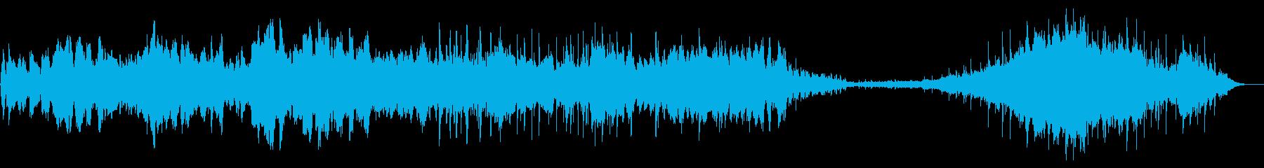 異世界、民族調、実験的ヒーリング音楽の再生済みの波形