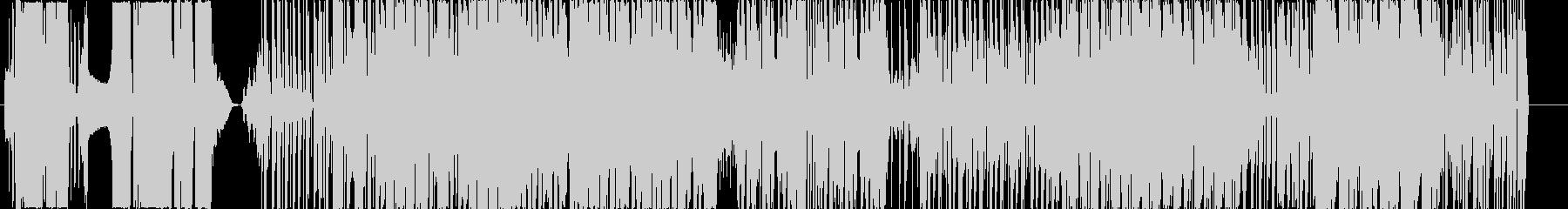 バーチャル&スピーディーなBGMの未再生の波形