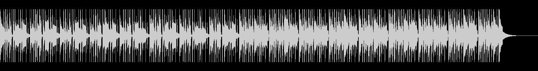 マリンバ コミカルな雰囲気の未再生の波形