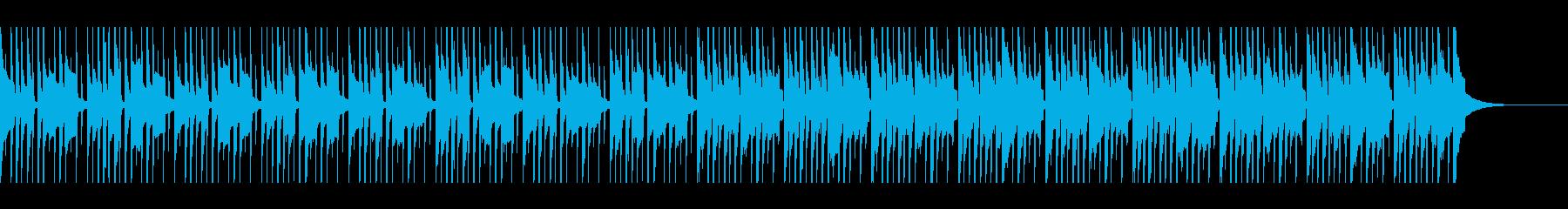 マリンバ コミカルな雰囲気の再生済みの波形