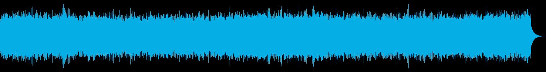 水中を漂うようなフィーリングミュージックの再生済みの波形