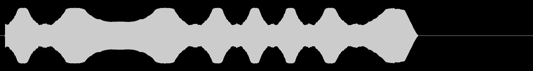 警報;警告音、振動音、安定の未再生の波形