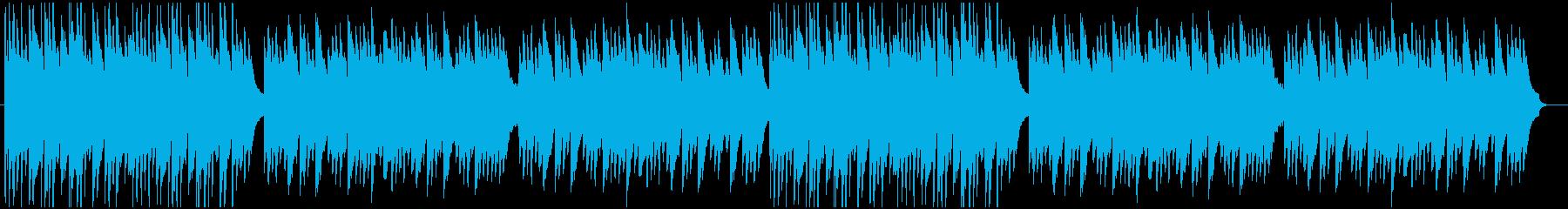 落ち着いたシーンで使えるピアノとアコギ曲の再生済みの波形