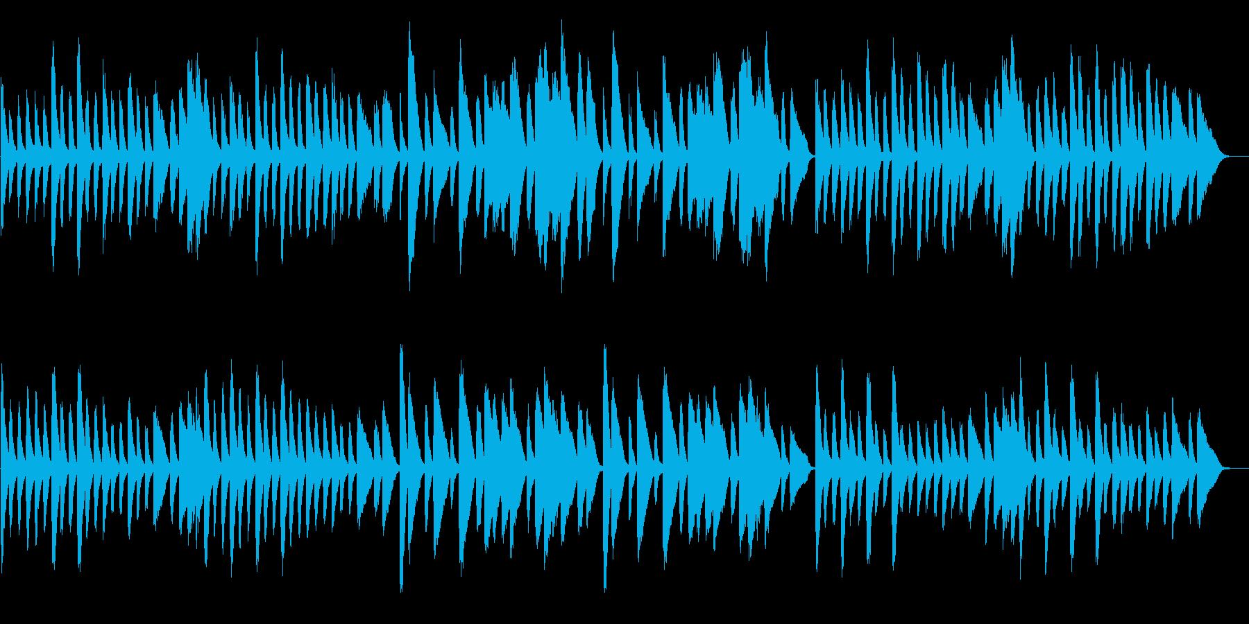 チョップスティックス/トトトのうたの原曲の再生済みの波形