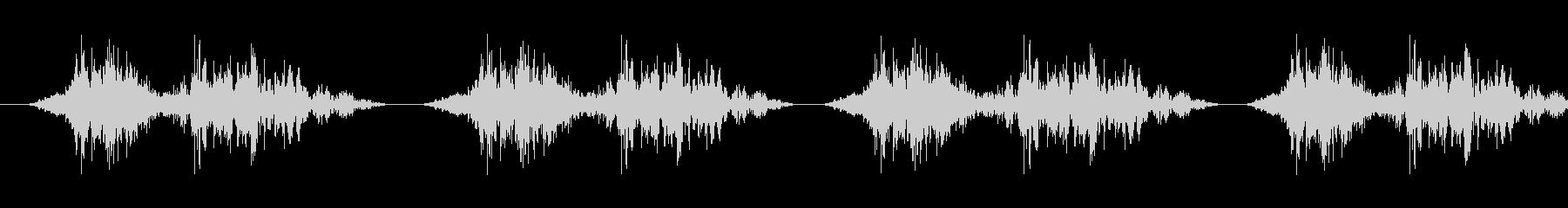 Huushuhuushi (polishing / animation tone)'s unreproduced waveform