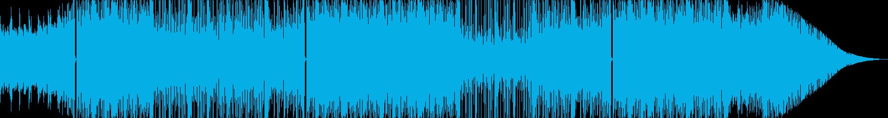 切ないBoomBap系 Hip Hopの再生済みの波形