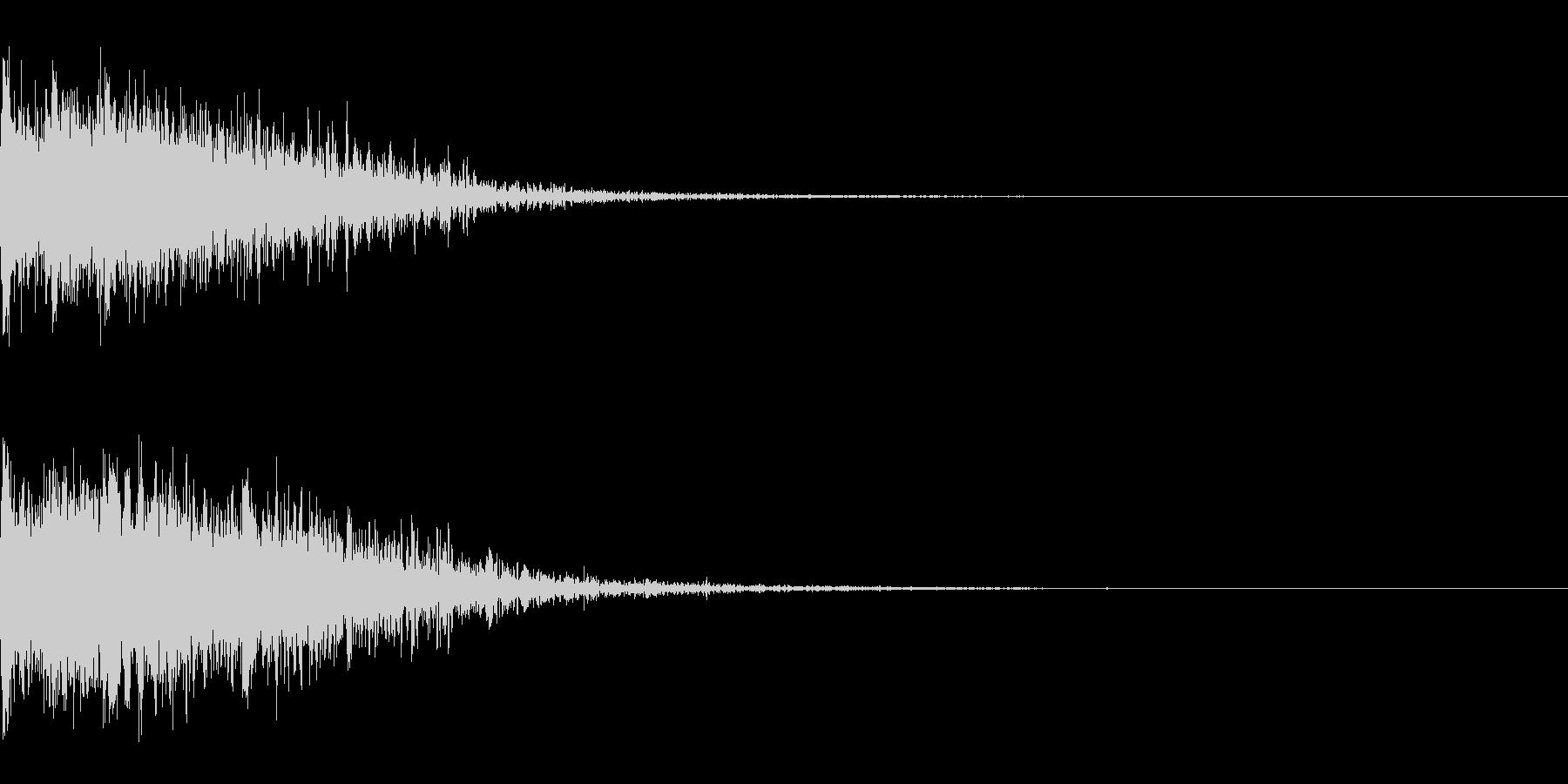 ドカーン!(大爆発_その3)の未再生の波形