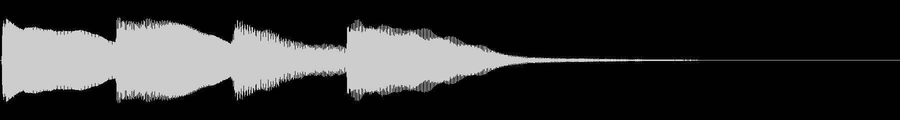 ピンポンパンポン01-3(バイノーラル)の未再生の波形