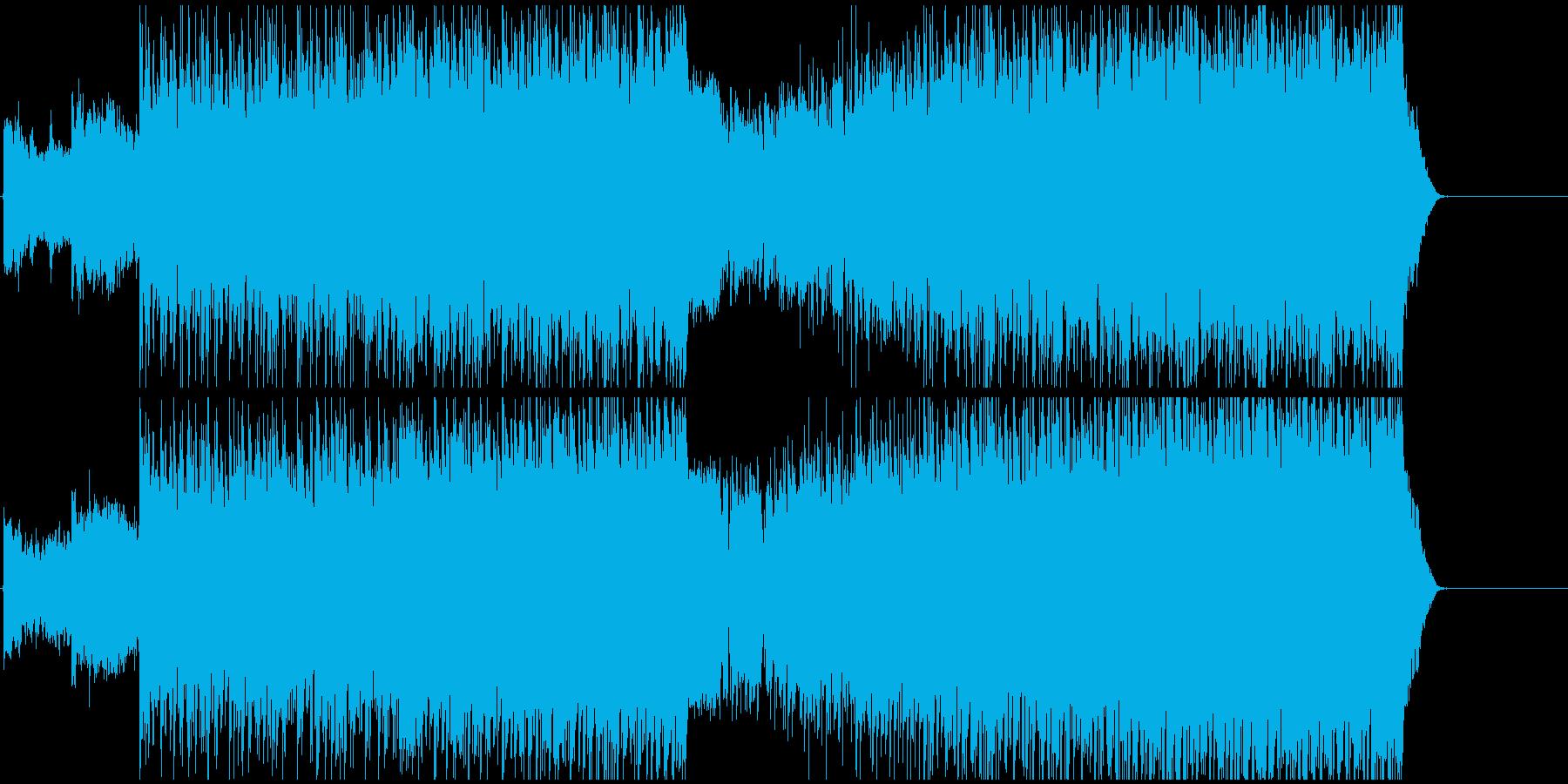トラップ ヒップホップ ギャングス...の再生済みの波形