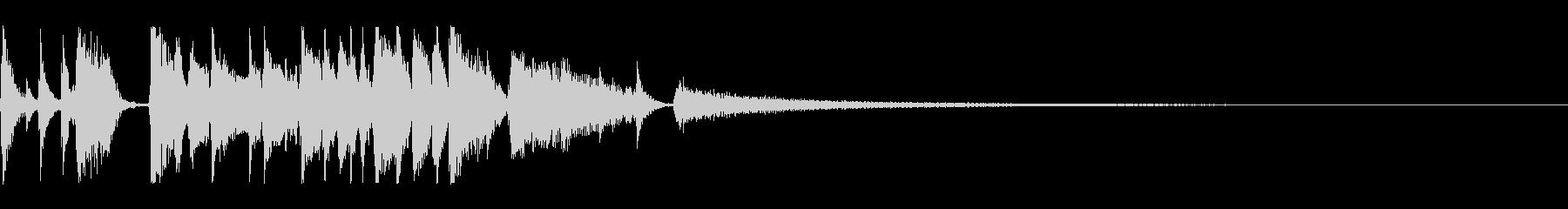 アコースティックギターのFunkロゴ 短の未再生の波形