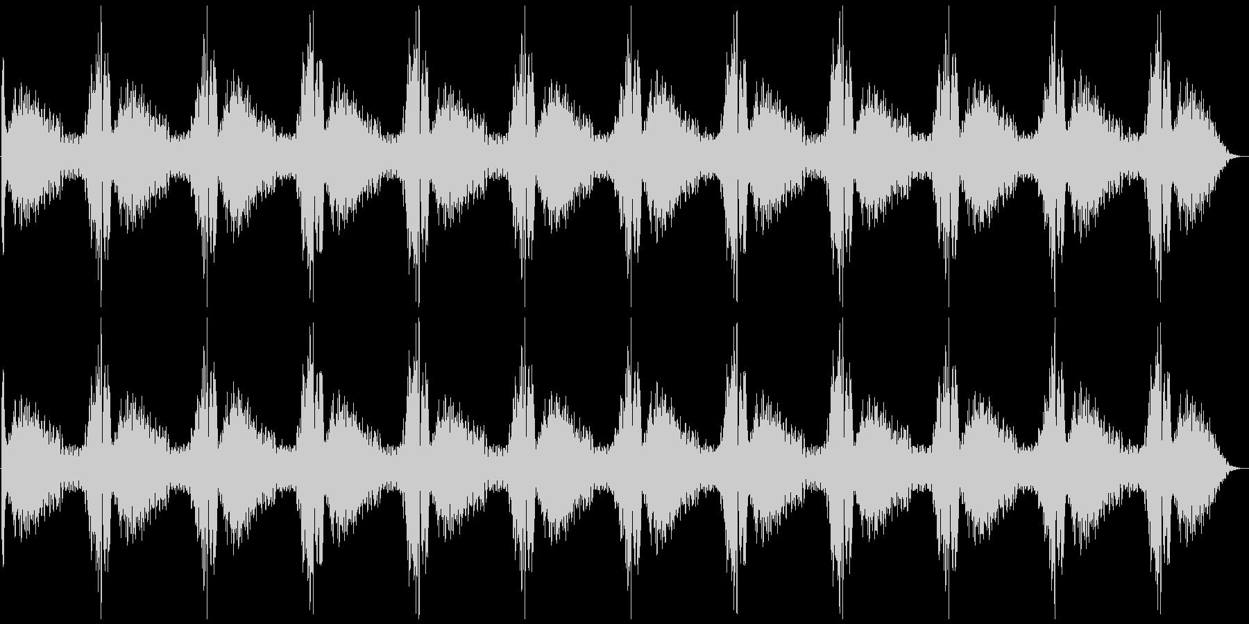 パトカー等のサイレンの未再生の波形