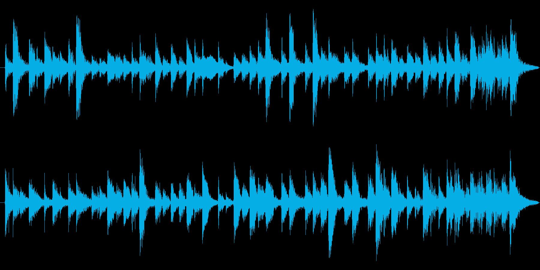 Gt をフューチャーした、ラテン系の爽…の再生済みの波形