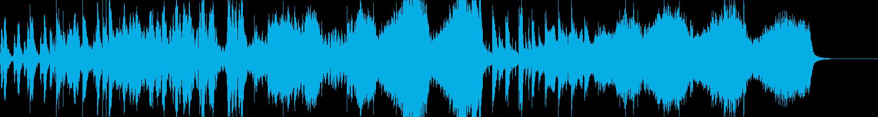 和楽器 オーケストラ 弦楽器 管楽器の再生済みの波形