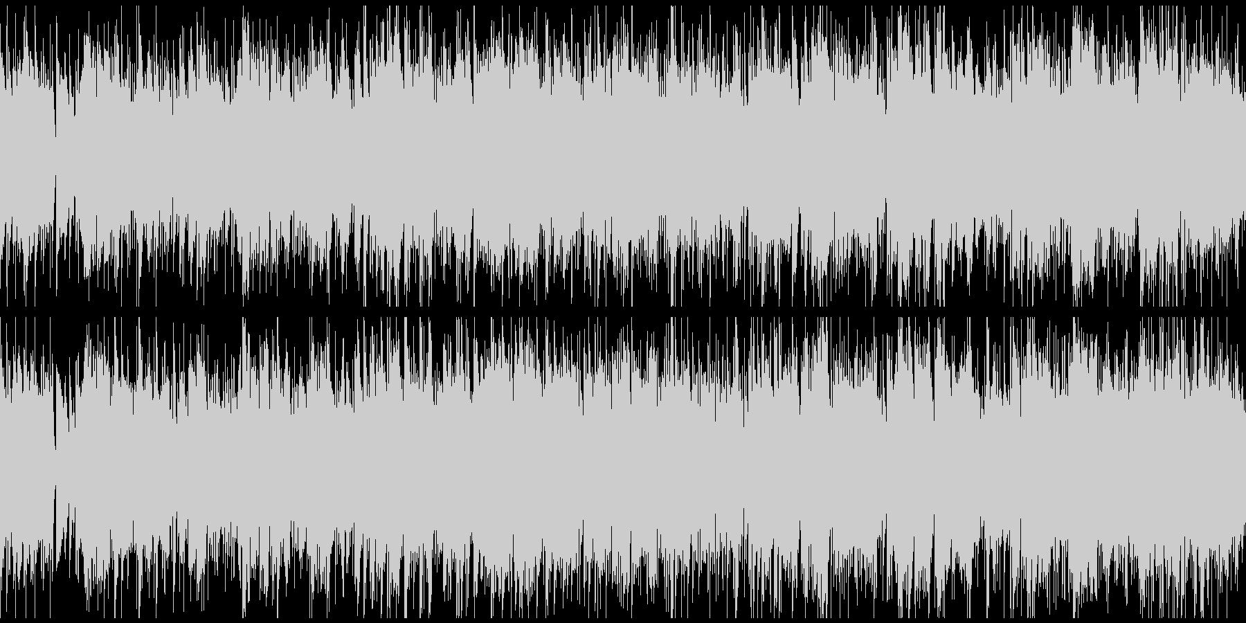 暖かく未来感あるボサノバ ※ループ仕様版の未再生の波形