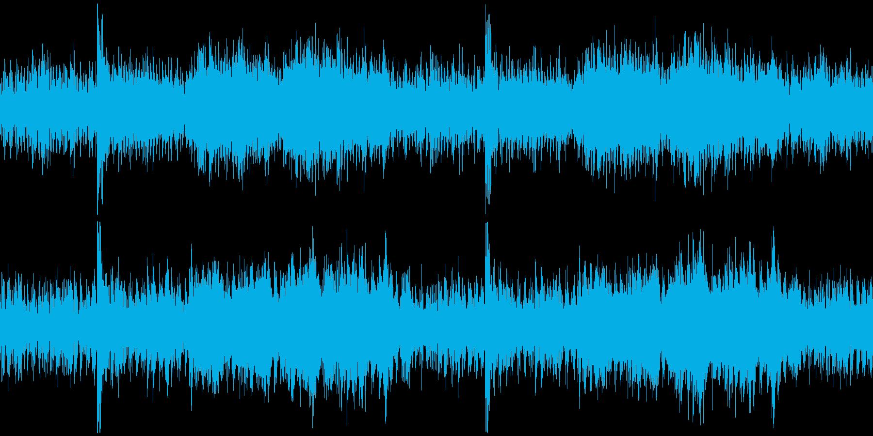 ピアノのアンビエントな不思議な雰囲気 の再生済みの波形