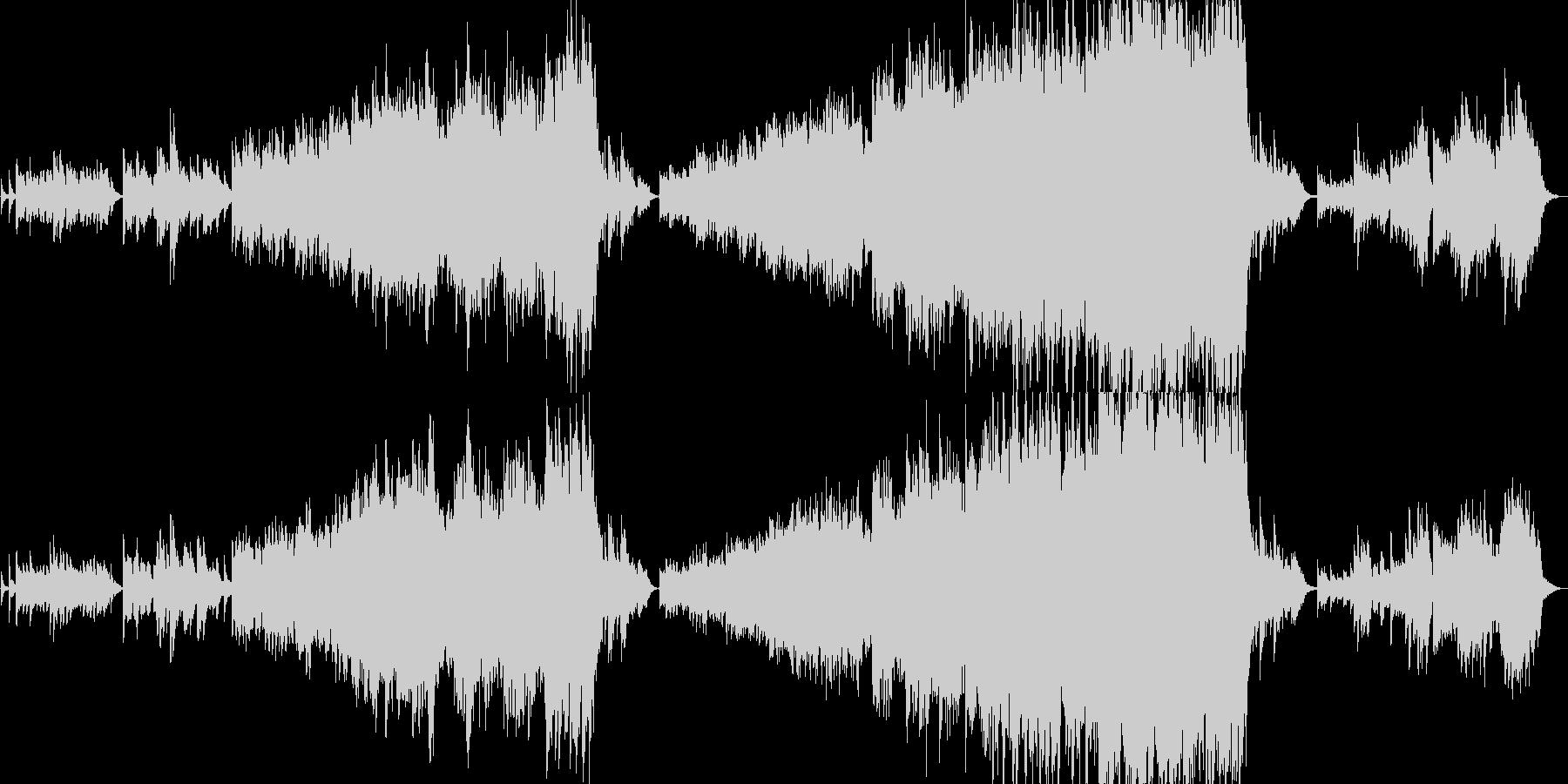 クラシック 交響曲 ほのぼの 幸せ...の未再生の波形