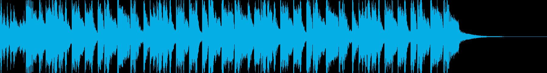 渋谷系 原宿系 かわいいポップなジングルの再生済みの波形