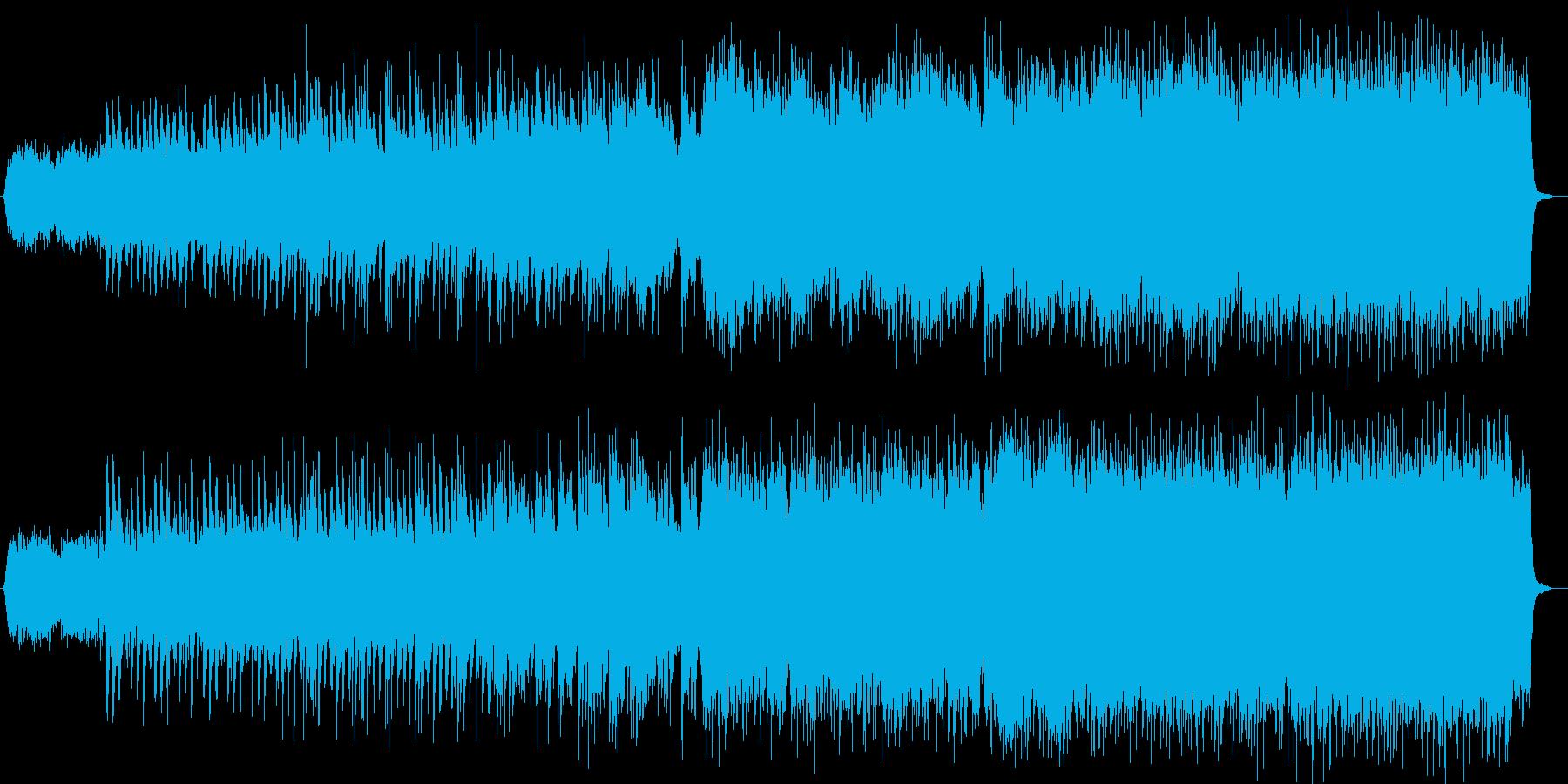 悲しいバラードの再生済みの波形
