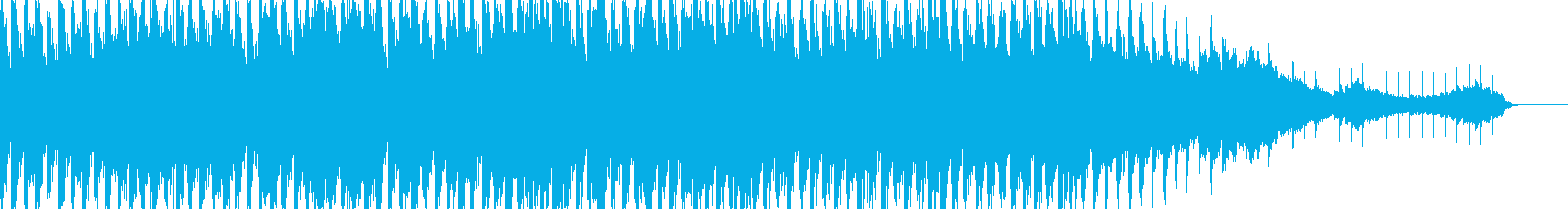 60秒 動画広告等に明るく元気なトランスの再生済みの波形