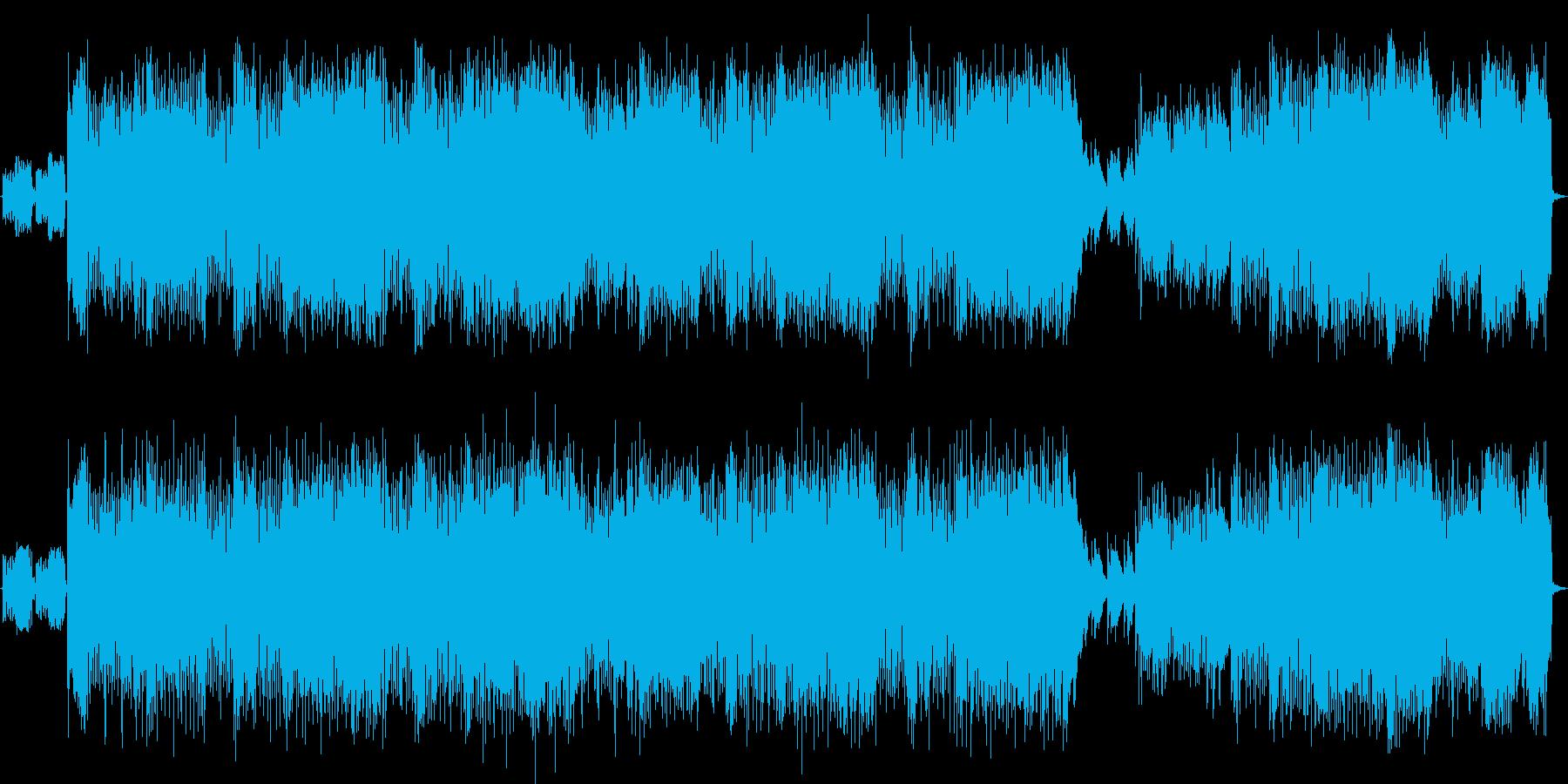 女声ボーカル 日本語 パンク風 ロックの再生済みの波形