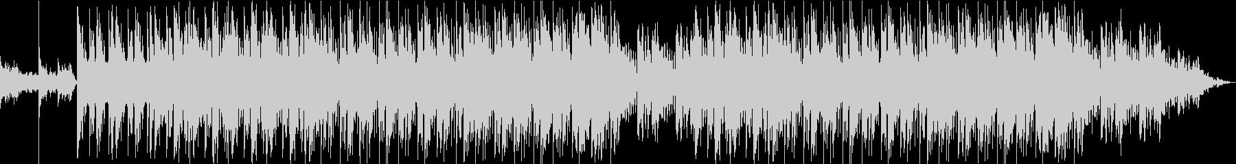 ドキュメンタリーのBGM-ピアノ・弦楽器の未再生の波形