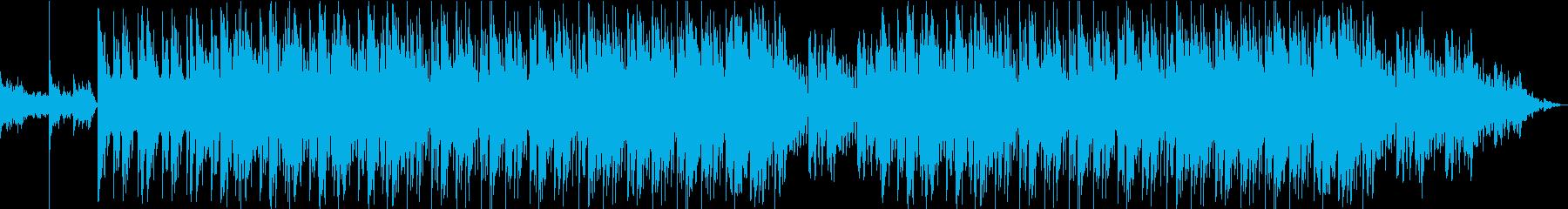 ドキュメンタリーのBGM-ピアノ・弦楽器の再生済みの波形