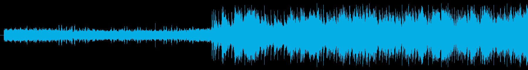 インストールの再生済みの波形