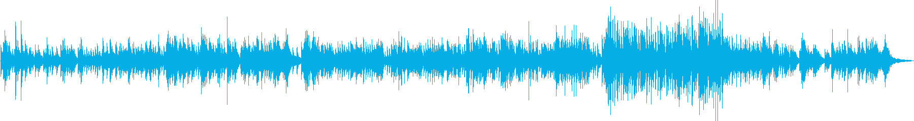 A heartwarming piano in the background of reading's reproduced waveform