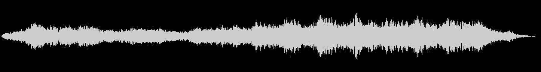 ブツブツ エイリアンオオカミ01の未再生の波形