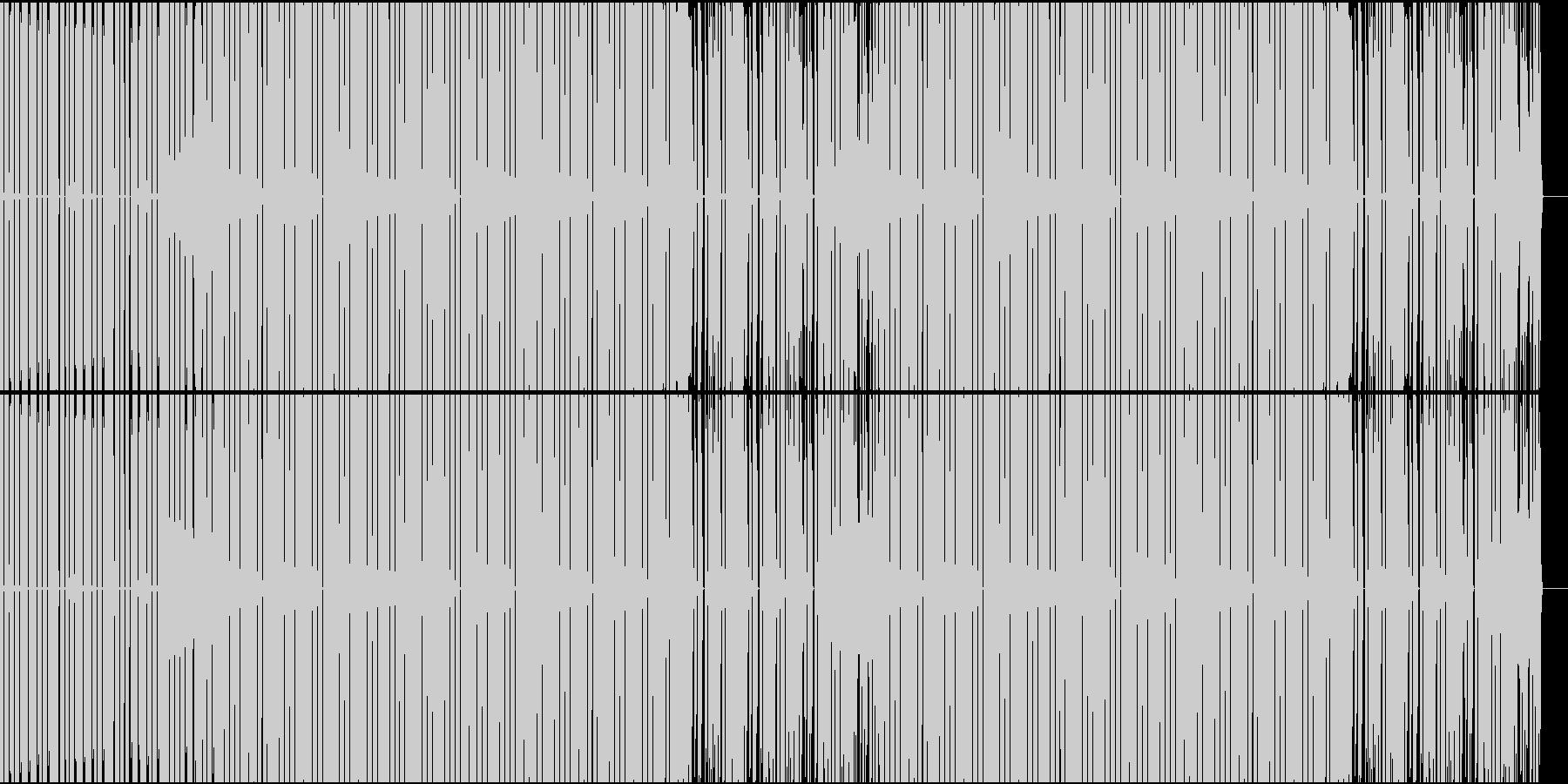 RPG・戦闘・8bit・チップチューンの未再生の波形