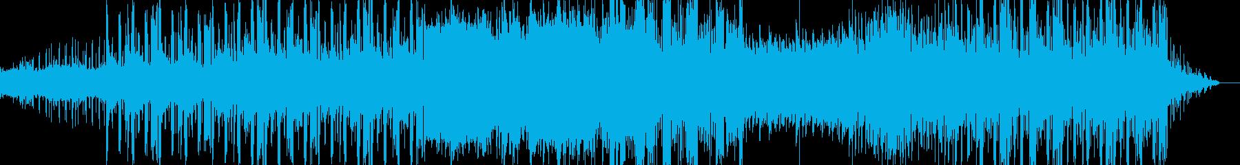 シンプルインスト、リラックスー冬の海の再生済みの波形