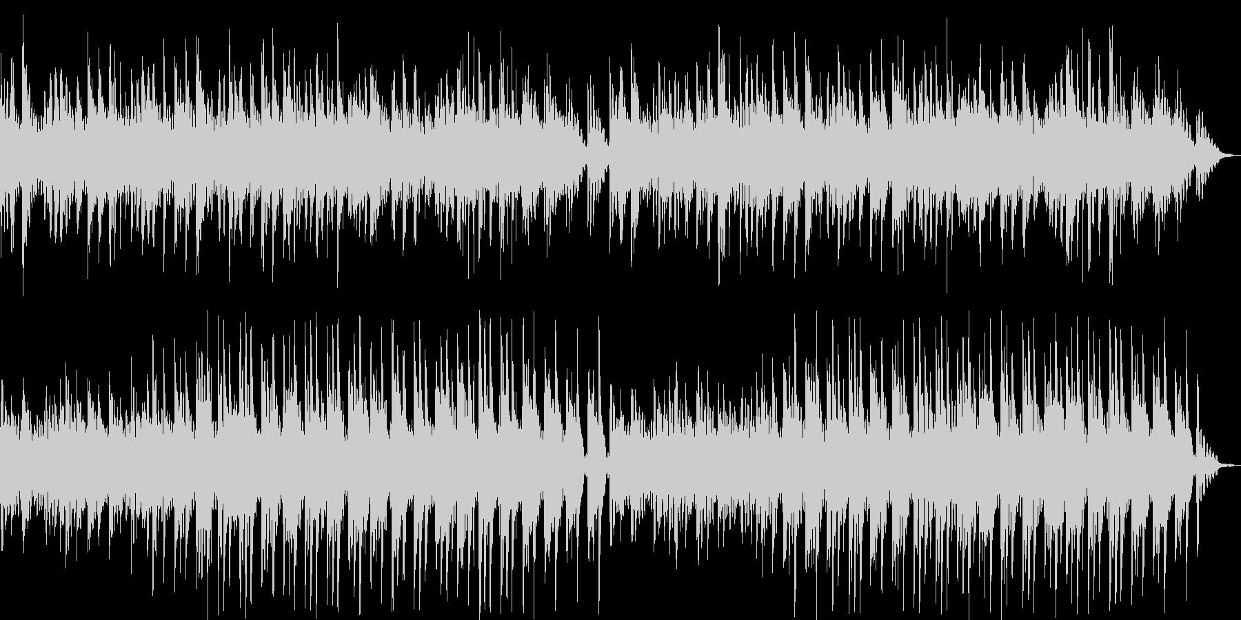優しいリラクゼーションミュージックの未再生の波形