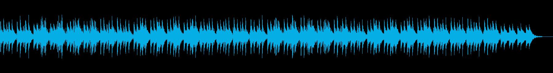 ダークで迫力のあるメロディーの再生済みの波形