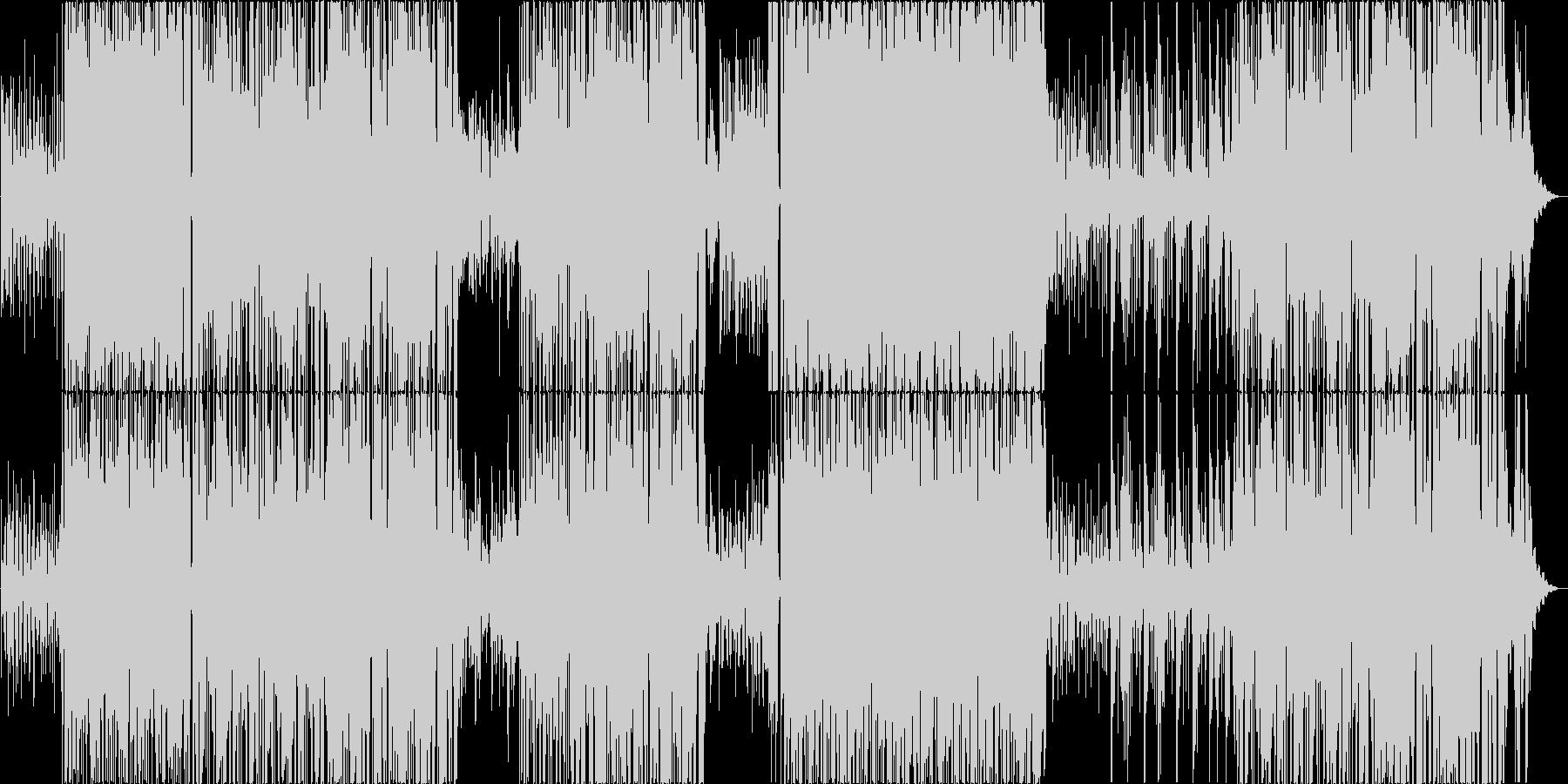 ビブラホーンが涼しい軽快なボサノバの未再生の波形