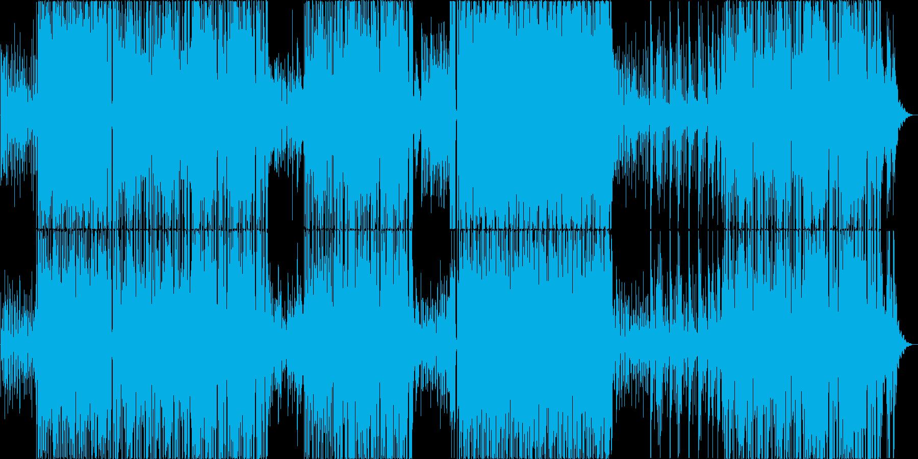 ビブラホーンが涼しい軽快なボサノバの再生済みの波形