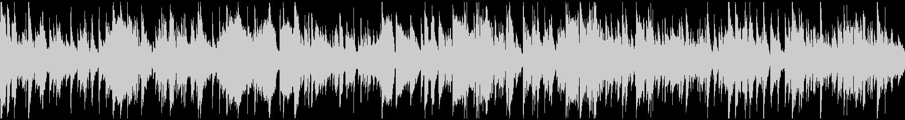 暖かい幸せなジャズ・バラード ※ループ版の未再生の波形