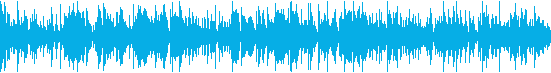 暖かい幸せなジャズ・バラード ※ループ版の再生済みの波形