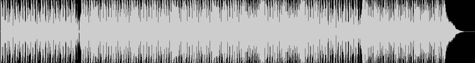 ヒップホップ、DJ、ファンク、トラックの未再生の波形
