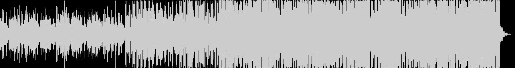 チルアウト軽快爽やかなトロピカルハウスbの未再生の波形