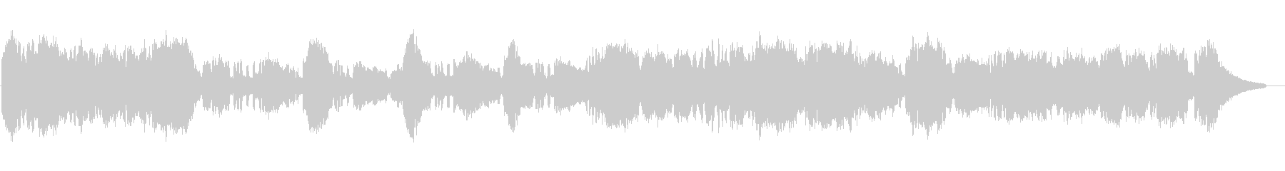 ファンタジーRPGのテーマソング・オー…の未再生の波形