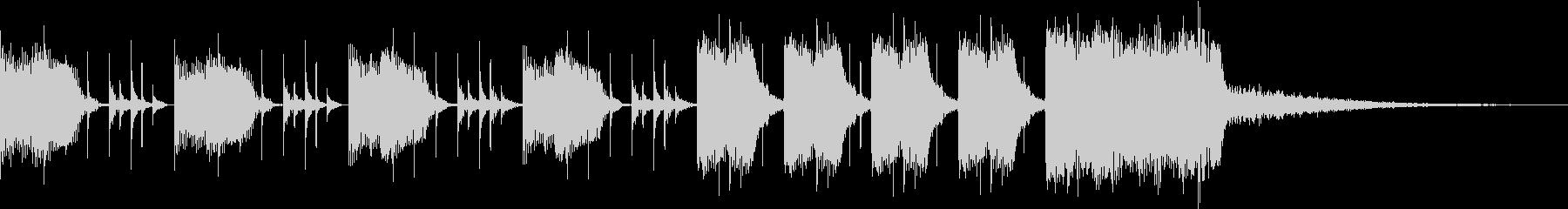 シンキングタイムジングル(10秒)の未再生の波形