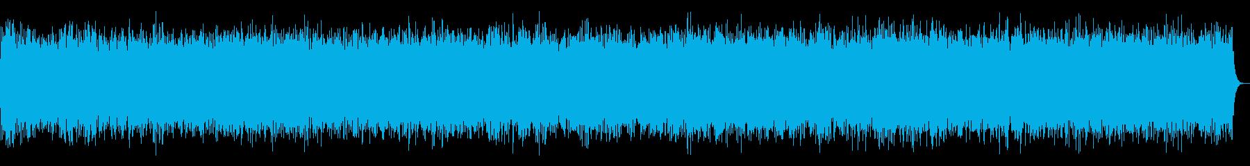 【ザー】無線やラジオのノイズ音の再生済みの波形