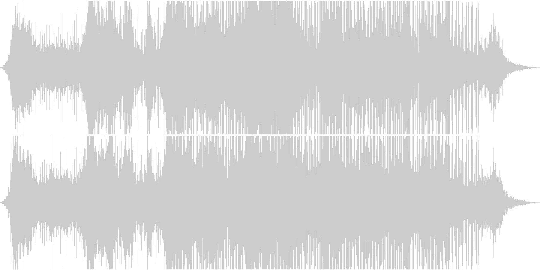 エキゾチックで神秘的なサウンドの未再生の波形