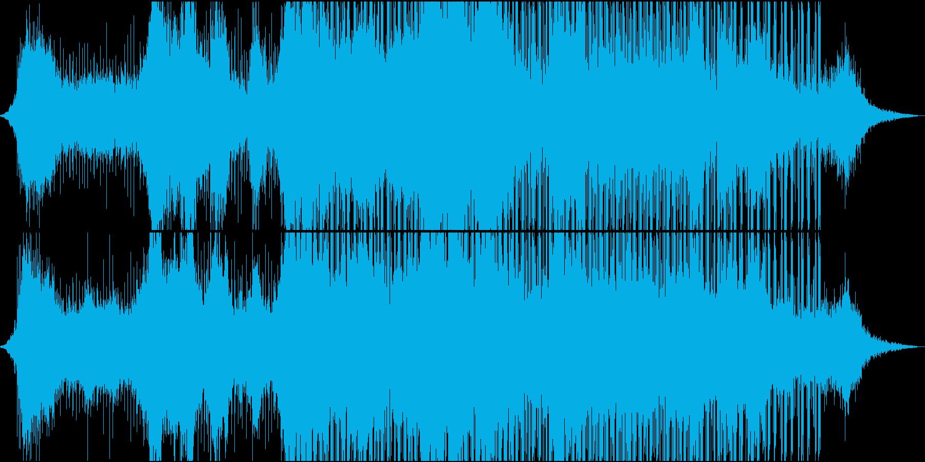 エキゾチックで神秘的なサウンドの再生済みの波形