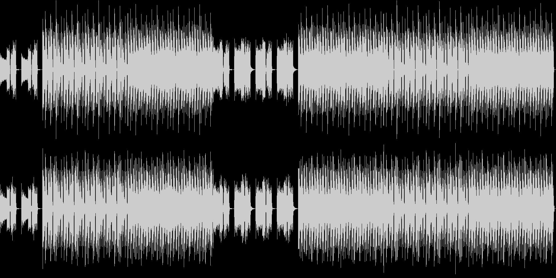 おしゃれ・低音重視・EDM・ベース7の未再生の波形