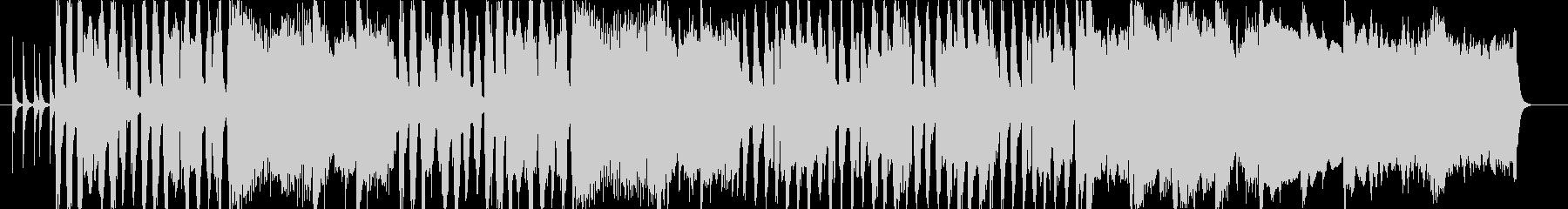 トロンボーンのメロディでまったりとした曲の未再生の波形