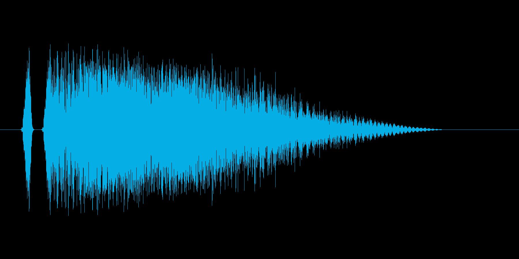 短い電撃。の再生済みの波形