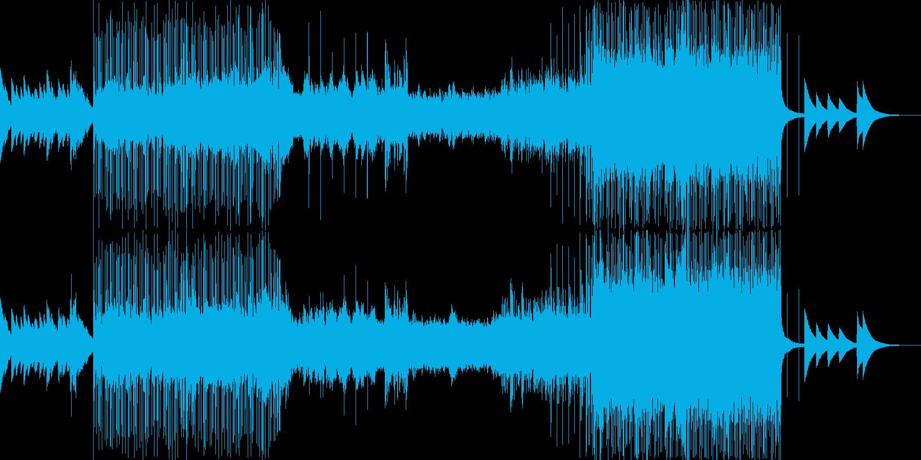 シネマティック 感情的 説明的 静...の再生済みの波形